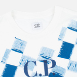 Мужская футболка C.P. Company Stampa All Over White фото- 1