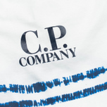 Мужская футболка C.P. Company Stampa All Over White/Blue фото- 2