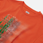 Мужская футболка C.P. Company Treated Blurred More Logo Spicy Orange фото - 1