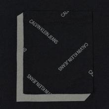 Мужская футболка Calvin Klein Jeans All Over Print Pocket 3D Black/Raven фото- 2