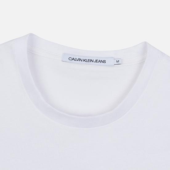 Мужская футболка Calvin Klein Jeans All Over Print Pocket 3D Bright White/Black