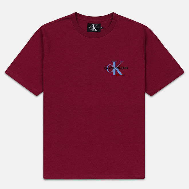 Мужская футболка Calvin Klein Jeans Embroidered Logo Beet Red