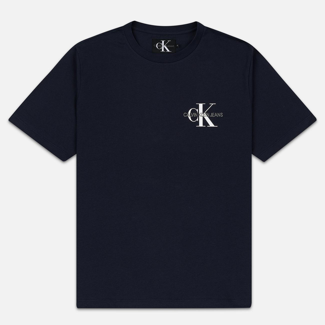 Мужская футболка Calvin Klein Jeans Embroidered Logo Night Sky