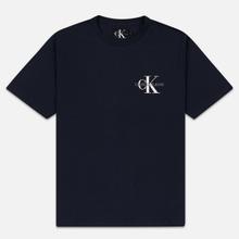 Мужская футболка Calvin Klein Jeans Embroidered Logo Night Sky фото- 0