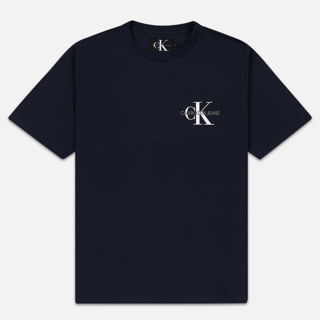 Мужская футболка Calvin Klein Jeans Embroidered Logo Night Sky