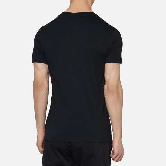 Мужская футболка Calvin Klein Jeans Essential Monogram Logo Black