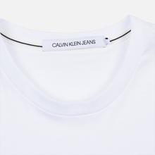 Мужская футболка Calvin Klein Jeans Essential Monogram Logo Bright White фото- 1