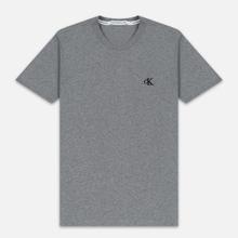 Мужская футболка Calvin Klein Jeans Essential Monogram Logo Mid Grey Heather фото- 0