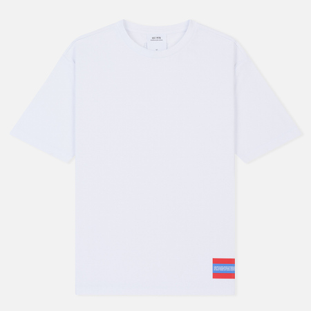 Мужская футболка Calvin Klein Jeans Est. 1978 Est. 1978 Small Patch Bright White/Tomato
