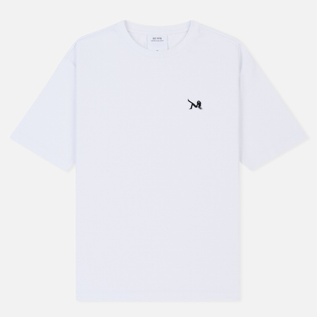 Мужская футболка Calvin Klein Jeans Est. 1978 Icon Chest Embroidery Bright White/Yellow