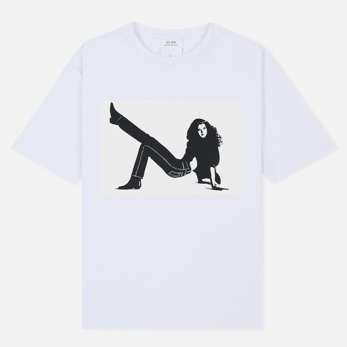 Мужская футболка Calvin Klein Jeans Est. 1978 Icon Chest Logo Print Bright White/Bright White