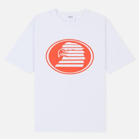 Мужская футболка Calvin Klein Jeans Est. 1978 Modernist Logo Bright White/Eagle