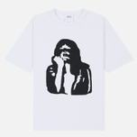 Мужская футболка Calvin Klein Jeans Est. 1978 Modernist Logo Bright White/Fist Lad фото- 0