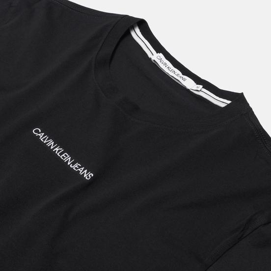 Мужская футболка Calvin Klein Jeans Instit Chest Logo Black