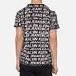 Мужская футболка Calvin Klein Jeans Logo All Over Print Black Exploded Hashtag фото - 3