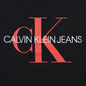 Мужская футболка Calvin Klein Jeans Monogram Logo Slim Black/Racing Red фото - 2