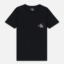 Мужская футболка Calvin Klein Jeans Monogram Pocket Black фото- 0
