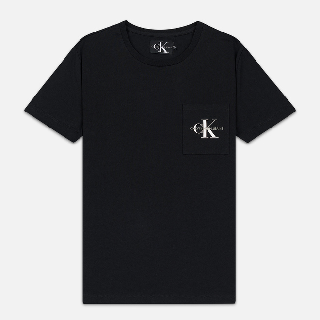 Мужская футболка Calvin Klein Jeans Monogram Pocket Black