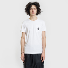 Мужская футболка Calvin Klein Jeans Monogram Pocket Bright White фото- 1