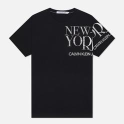 Мужская футболка Calvin Klein Jeans NY Logo Black
