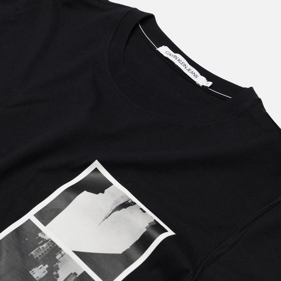 Мужская футболка Calvin Klein Jeans NY Photo Print Black