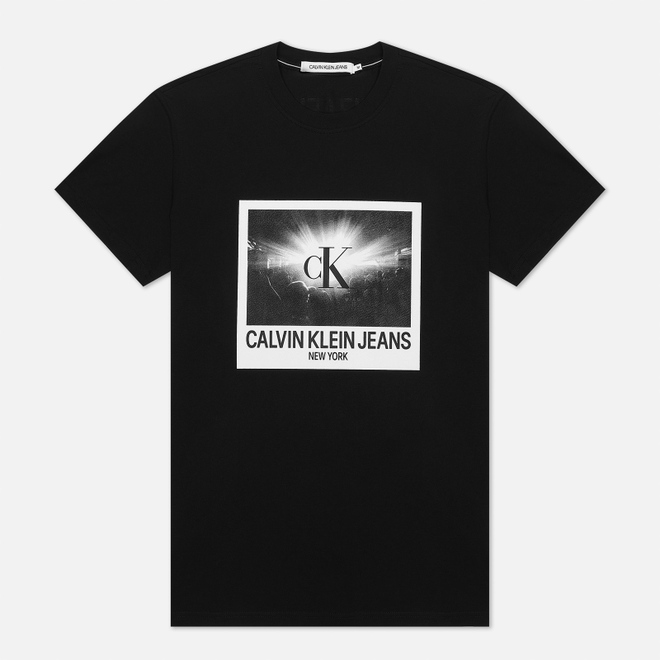 Мужская футболка Calvin Klein Jeans Rave Photo Box Black