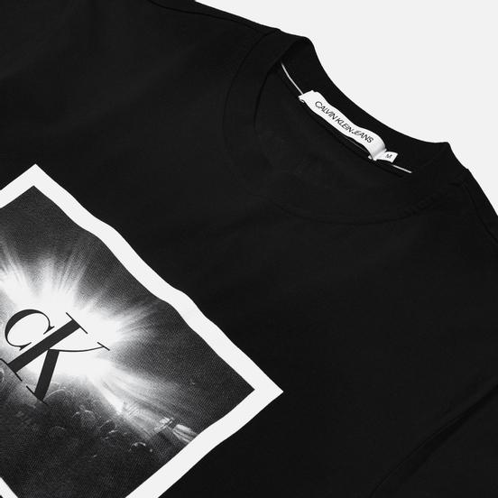 Мужская футболка Calvin Klein Jeans Rave Photo Box Black