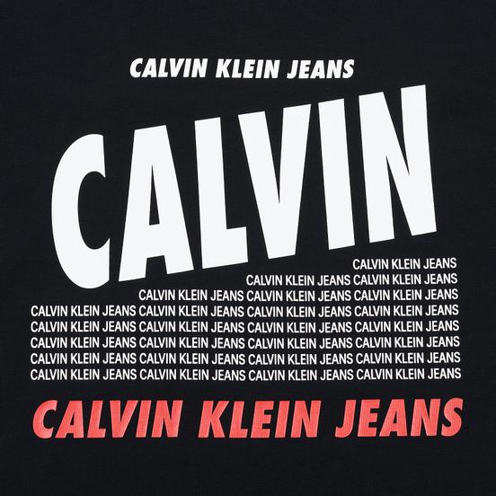 Мужская футболка Calvin Klein Jeans Slim Logo Print Black