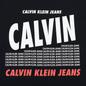 Мужская футболка Calvin Klein Jeans Slim Logo Print Black фото - 2