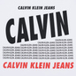 Мужская футболка Calvin Klein Jeans Slim Logo Print Bright White фото - 2