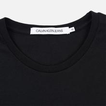 Мужская футболка Calvin Klein Jeans Slim Pocket Logo Black/Racing Red фото- 1