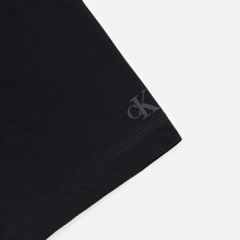 Мужская футболка Calvin Klein Jeans Slim Pocket Mirrored Monogram Logo Black/White фото- 3