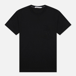 Мужская футболка Calvin Klein Jeans Tonal Pocket Monogram Black