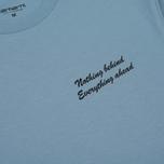 Мужская футболка Carhartt WIP Bumguy Glacier фото- 2