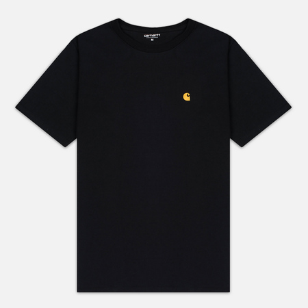 Мужская футболка Carhartt WIP Chase Black/Gold