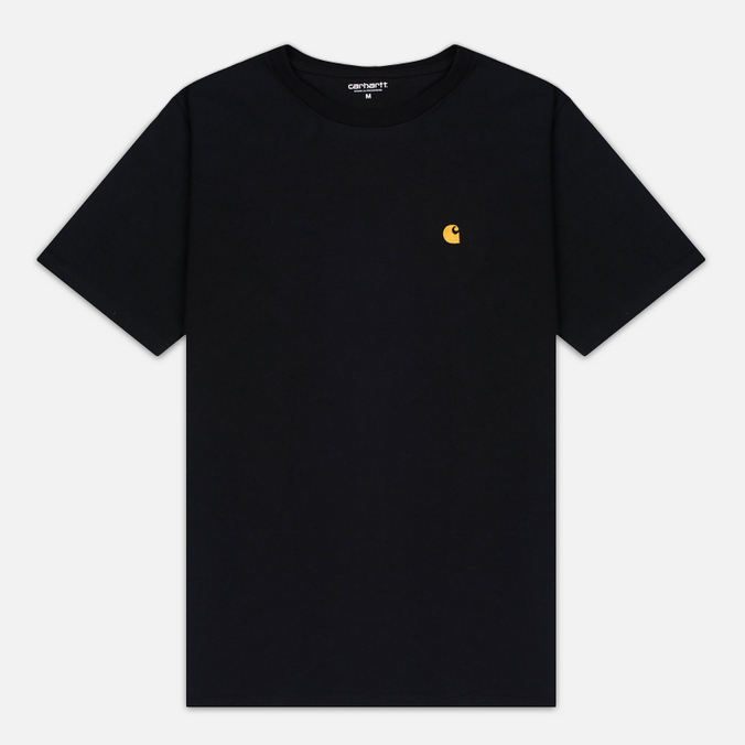 Carhartt WIP Chase Men's T-shirt Black/Gold
