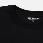 Carhartt WIP Chase Men's T-shirt Black/Gold photo- 1
