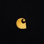 Carhartt WIP Chase Men's T-shirt Black/Gold photo- 3