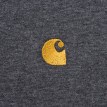 Мужская футболка Carhartt WIP Chase Dark Grey Heather/Gold фото- 3