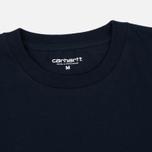 Мужская футболка Carhartt WIP Chase Navy/Gold фото- 2