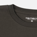 Мужская футболка Carhartt WIP College Cypress/Black фото- 1