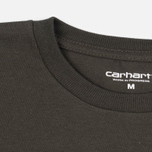 Carhartt WIP College Men's T-shirt Cypress/Black photo- 1