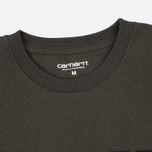 Мужская футболка Carhartt WIP College Cypress/Black фото- 2