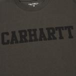 Carhartt WIP College Men's T-shirt Cypress/Black photo- 3