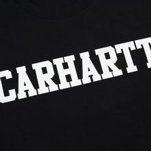 Мужская футболка Carhartt WIP College Graphic Print Black/White фото- 2