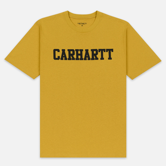 Мужская футболка Carhartt WIP College Graphic Print Colza/Black