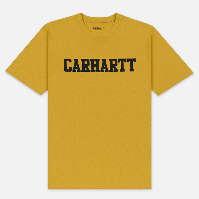 Мужская футболка Carhartt WIP College Graphic Print Colza/Black
