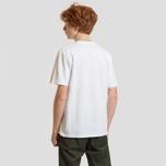 Мужская футболка Carhartt WIP College Graphic Print White/Black фото- 2