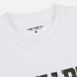 Мужская футболка Carhartt WIP College Graphic Print White/Camo Laurel фото- 1