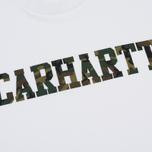 Мужская футболка Carhartt WIP College Graphic Print White/Camo Laurel фото- 2
